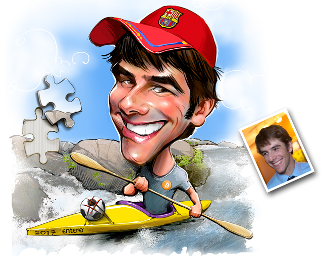 Studio caricatures and illustrations